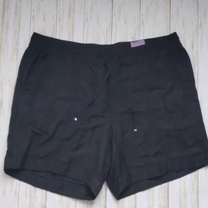 Lane Bryant Linen Blend Shorts as 22/24  NWT